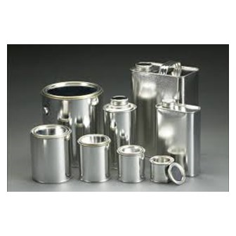 Tin Containers Used For Paints & Food Industry
